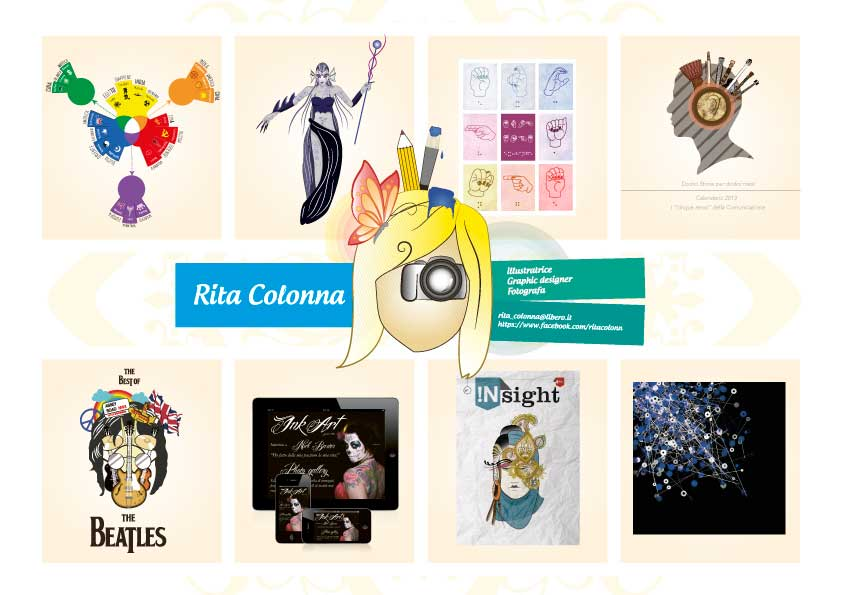 Rita Colonna moodboard